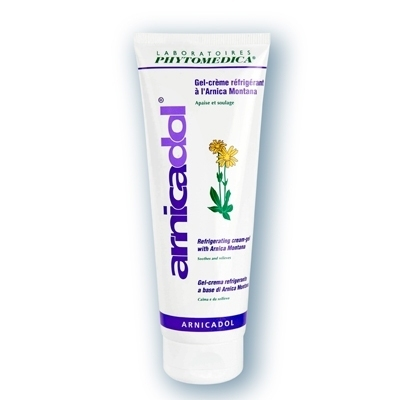 Crèmes & Huiles Arnicadol Phytomédica - Gel de massage réfrigérant - Tube de 250 ml