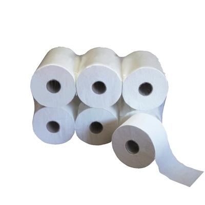 Papier toilette & Hygiénique Papier toilette Ouatinelle - Compact lisse 640 formats - Ballot de 12 rouleaux