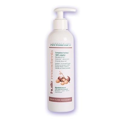 Huile de massage Huile fluide Macadamia - Phytomedica - Flacon x 250 mL