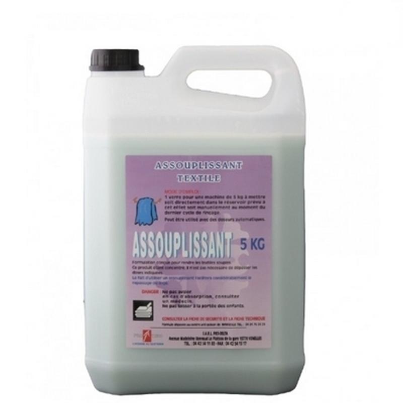 Produits d'entretien Assouplissant textile - Bidon de 5 litres