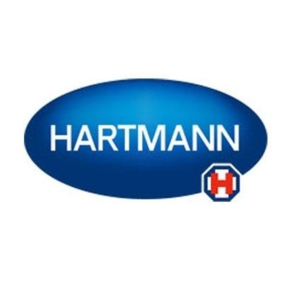 Draps d'examen plastifiés bleus Hartmann - 180 formats 38 x 50 - Carton de 6 rouleaux