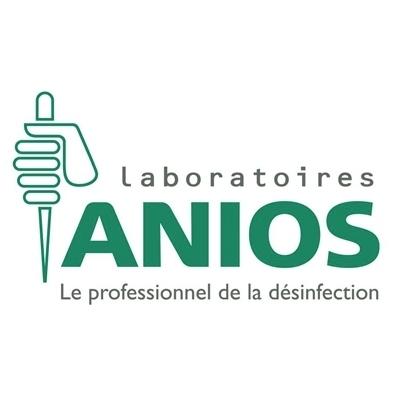 Lingettes Anios - Nettoyantes & désinfectantes - Grand modèle - Boite de 120