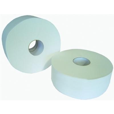 Papier toilette / Papier hygiénique Bobine papier hygiénique - micro gaufrée moyen modèle - Carton x 12
