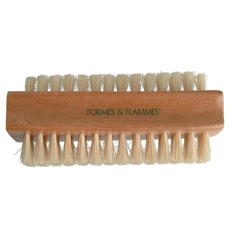 Consommables esthétique Brosse à ongle Formes & Flammes - Soie naturelle