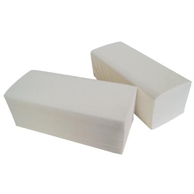 Essuie-mains & Essuie-tout Essuie mains plié en V - 2 plis gaufré collé - Carton de 3600 feuilles - Global Hygiène H146