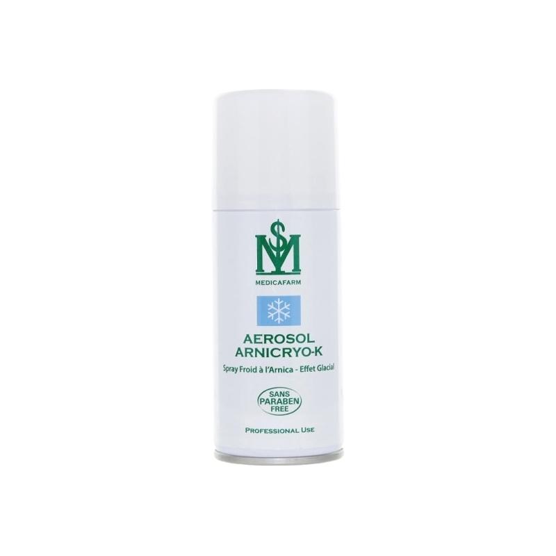 Cryothérapie & Thermothérapie Aérosol Arnicryo K à l'Arnica - Effet glacial - Medicafarm - Spray de 150 ml