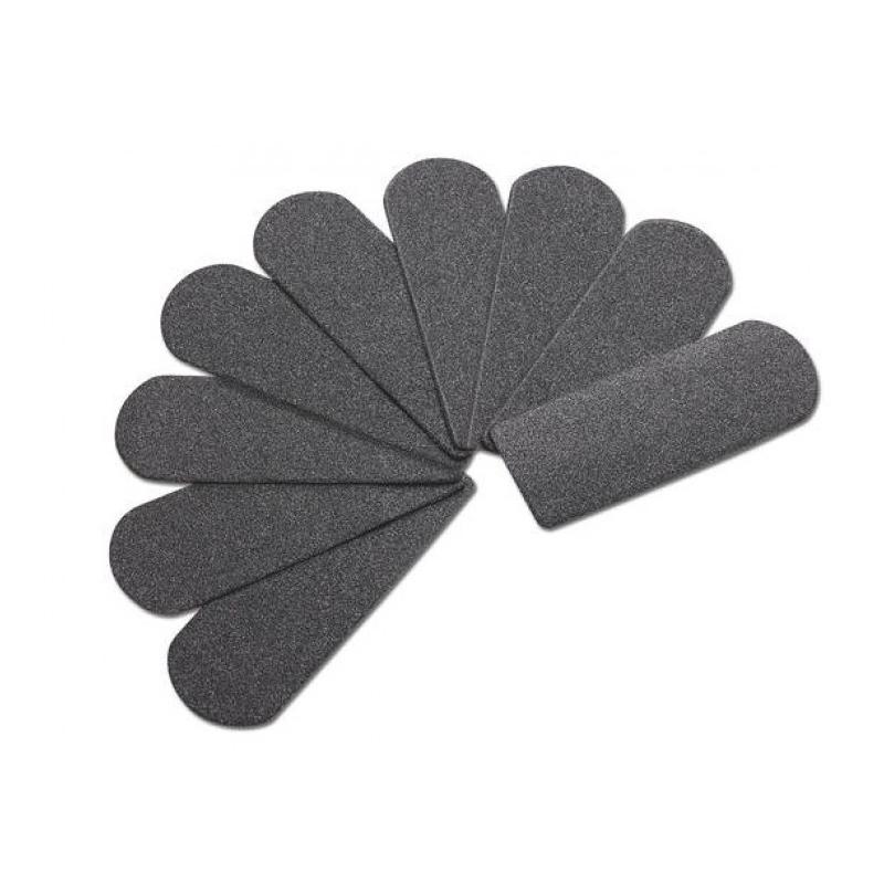 Râpes & Abrasifs Abrasifs autocollants pour rape inox - Grain fin - Sachet x 50