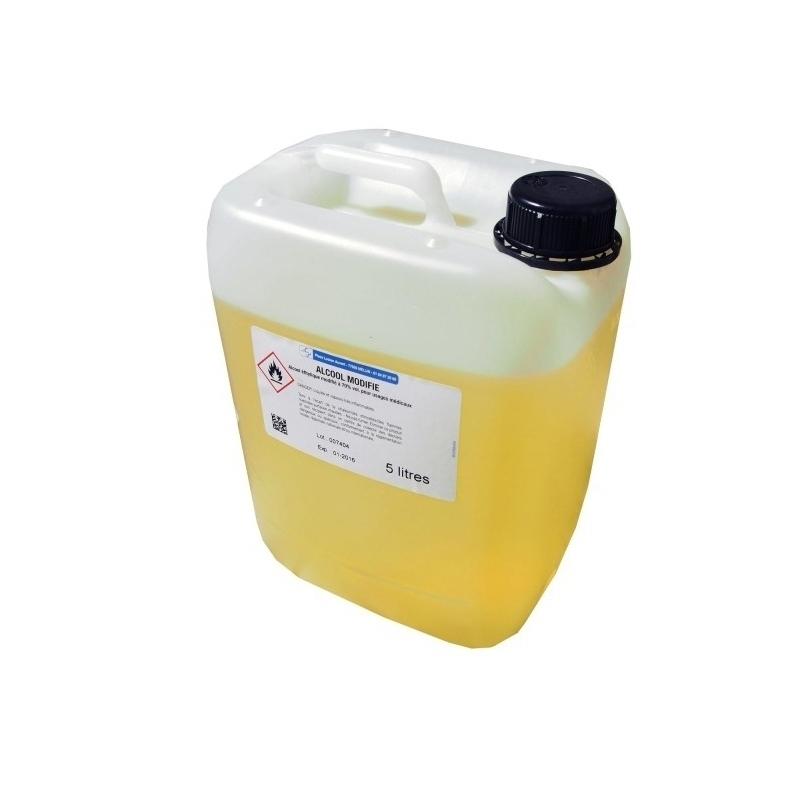 Alcool & Chlorhéxidine  Alcool modifié 70% Cooper - Bidon de 5 litres