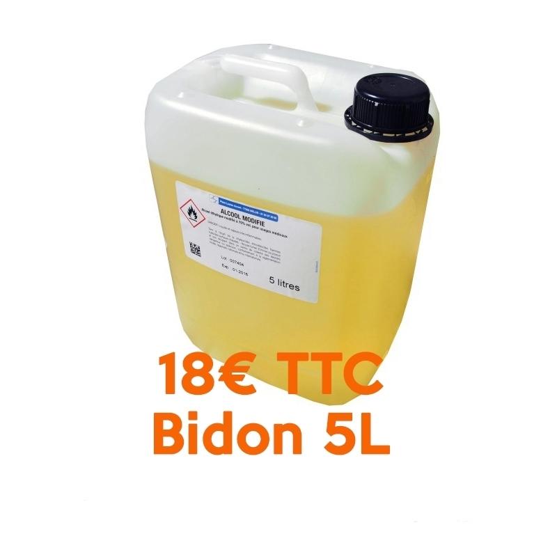 Alcool Alcool modifié 70% Cooper - Bidon 5 L