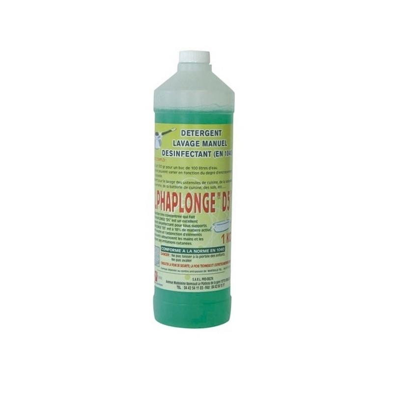 Produits d'entretien Liquide vaisselle Alphaplonge - Détergent - Bidon de 1 litre