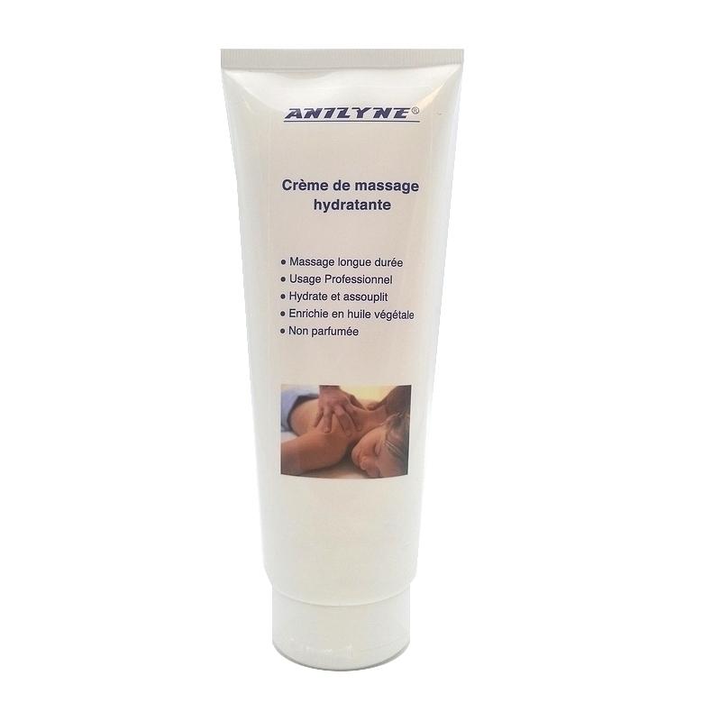 Crèmes & Huiles Anilyne - Crème de massage neutre - Tube de 250 ml