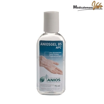 Gels hydroalcooliques / Manugel ANIOSGEL 85 NPC - Flacon 75 mL
