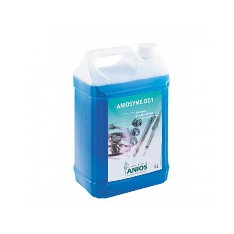 Désinfection du matériel Aniosyme DD1 Anios - Nettoyant et pré désinfectant - Bidon de 5 litres