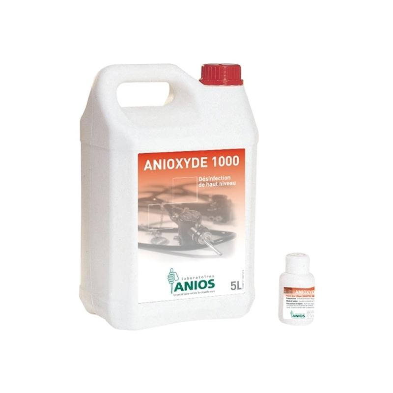 Sols et surfaces ANIOXYDE 1000 ANIOS - Nettoyant et Désinfectant - Bidon 5 L