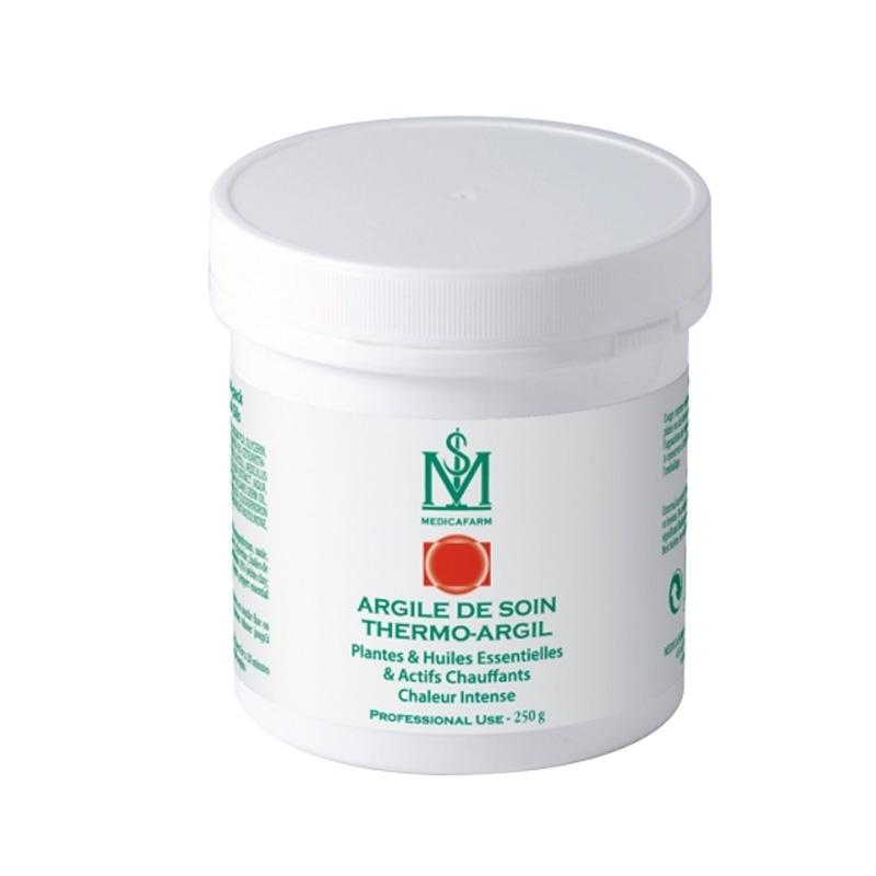 Cryothérapie & Thermothérapie Argile de soin Thermo Argil - Chaleur intense - Medicafarm - Pot de 250 g