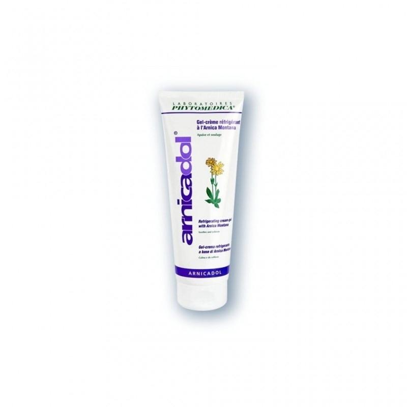 Crèmes & Huiles Arnicadol Phytomédica - Gel de massage réfrigérant - Tube de 75 ml