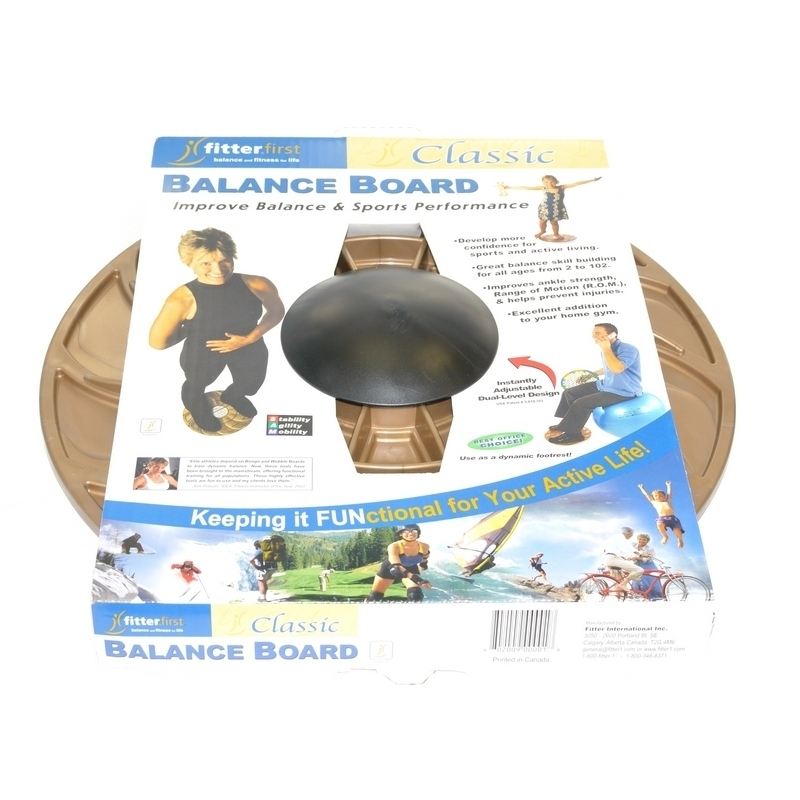 Plateau d'équilibre Balance Board - Fitter First Classic