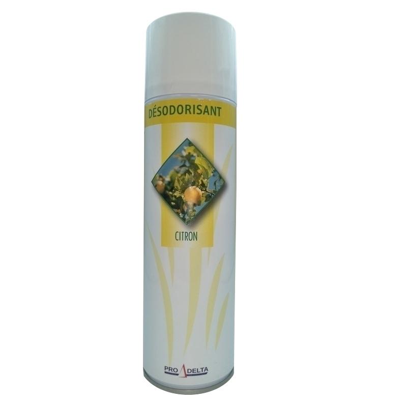 Traitement air et odeur Bombe désodorisante - Parfum Citron - Aérosol de 500 ml