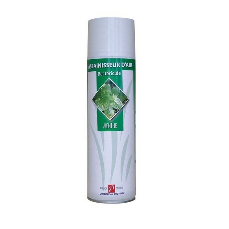 Traitement air et odeur Assainisseur d'air Bactéricide - Parfum Menthe - Aérosol 500 ml