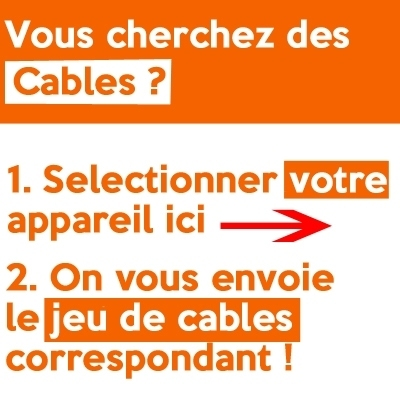 Câbles pour appareils Jeu de câbles pour appareils Cefar Compex - Tous modèles