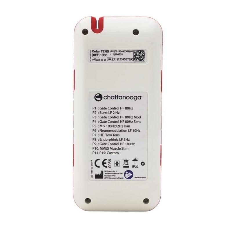 Stimulateur Cefar TENS - DJO Global Chattanooga - Électrothérapie portable