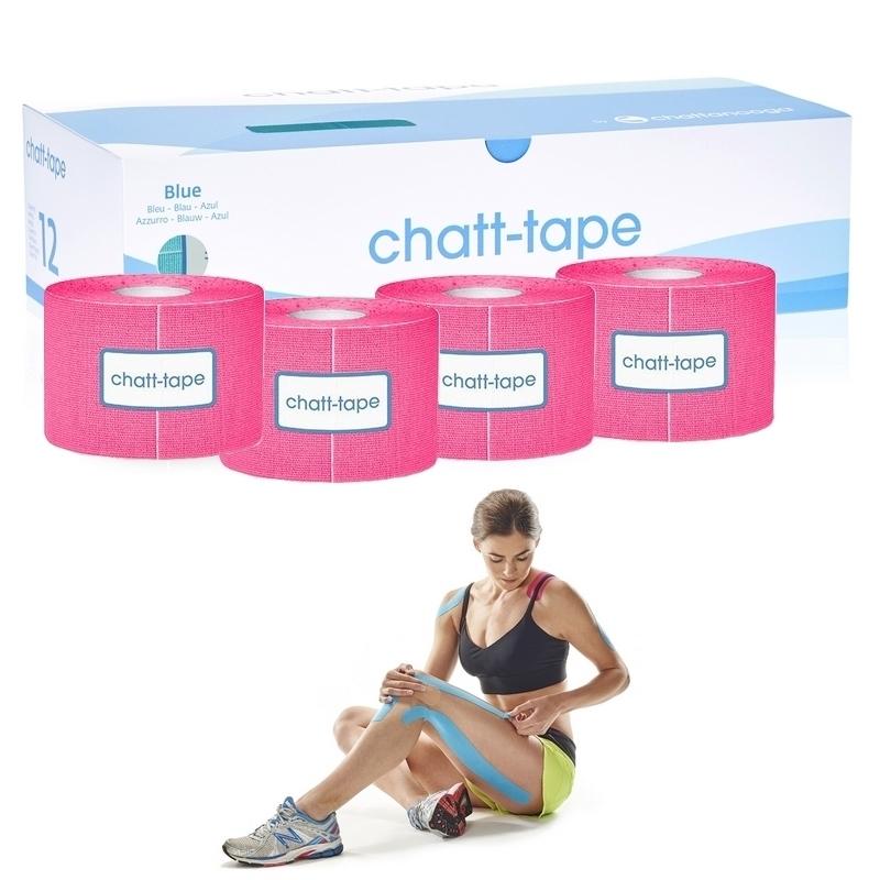 KTape & Taping Chatt Tape - Bande adhésive élastique - 5 cm x 5 m - Différents coloris