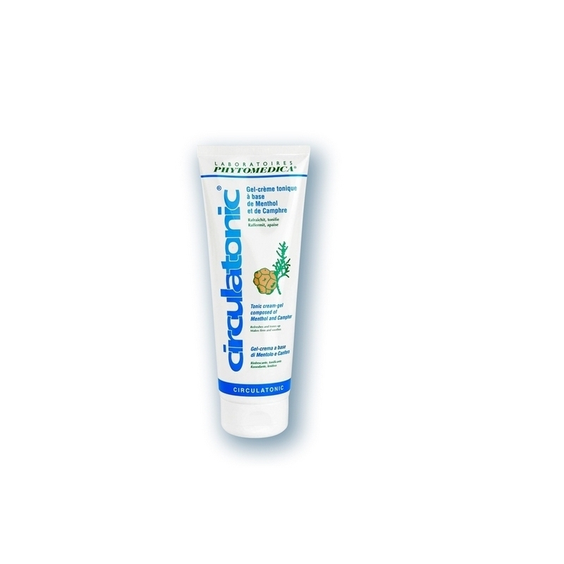 Crèmes & Huiles Circulatonic Phytomédica - Gel fraîcheur jambes légères - Tube de 75 ml