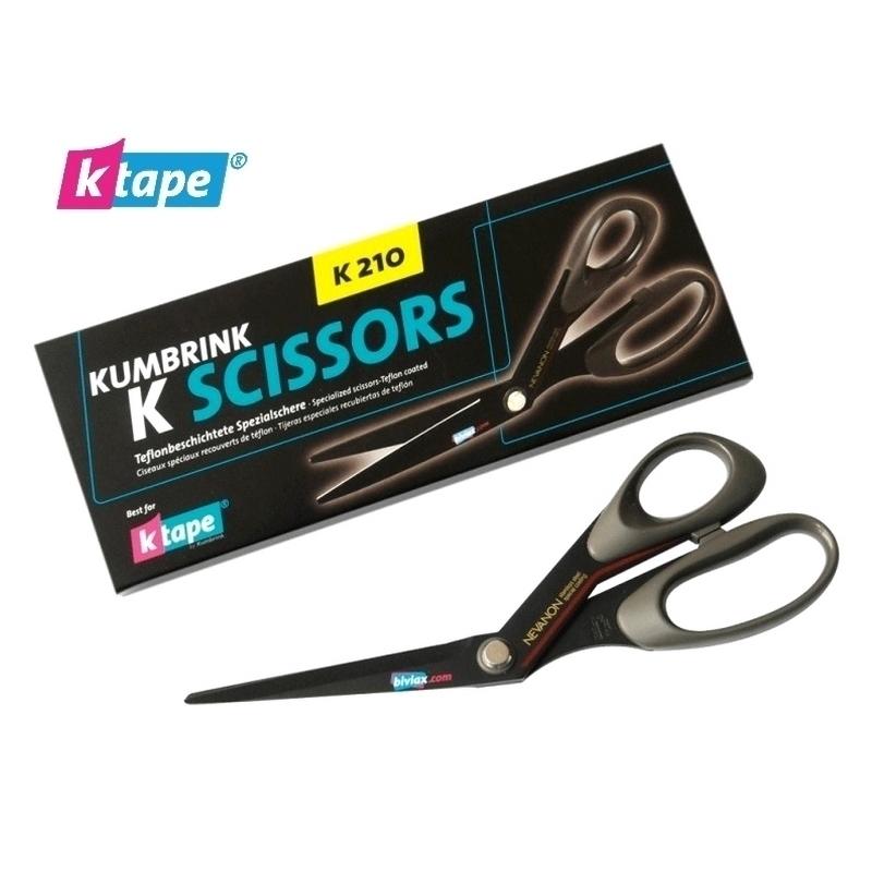 KTape & Taping Ciseaux KTape - 21 cm noir - Droitier ou gaucher - Unitaire