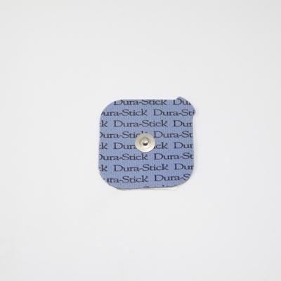 Electrodes Électrodes carrées à clip 50 x 50 - Dura Stick Plus Cefar Compex - Paquet de 4 - Référence 42201
