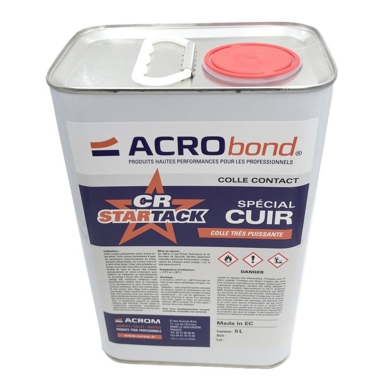Colles & Accessoires Colle Acrobond CR Star Tack - Acrom - Bidon 5 litres