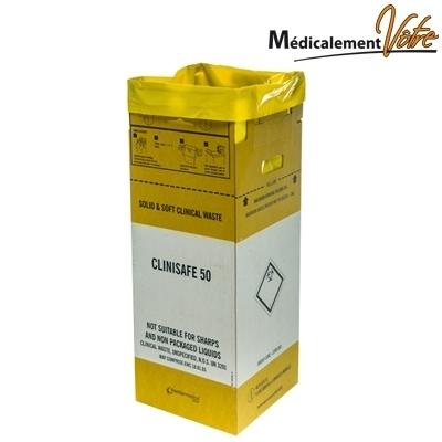 Collecte des déchets Container en carton pour déchets - 50 L - Carton x 10