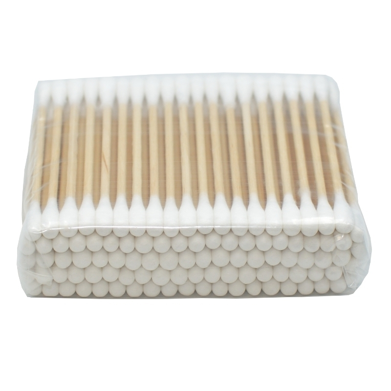 Instruments  Coton tige en bois - Non stérile - Sachet de 100