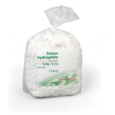 Coton  Coton boule hydrophile Lohmann - Sachet de 700