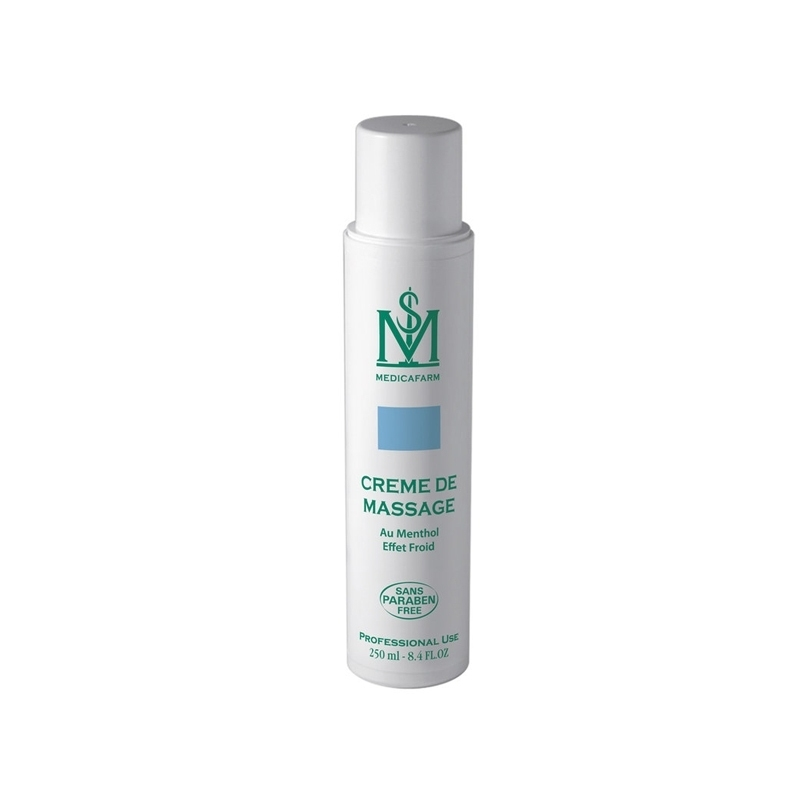 Crèmes et Huiles Crème de massage Menthol Cryo - MEDICAFARM - Tube x 250 mL