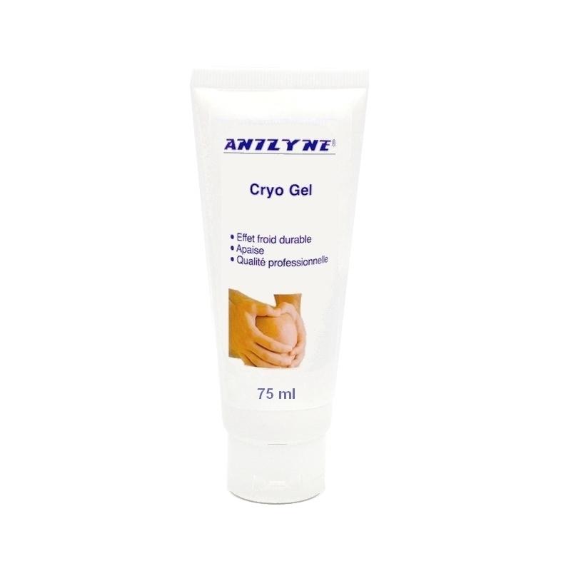 Gel et lait de massage Cryo Gel Anilyne - Gel de massage - Tube de 75 ml