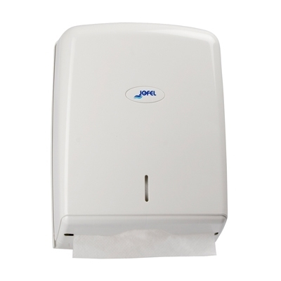 Distributeur papier Distributeur essuie mains - Enchevêtré pliage en Z - 600 feuilles