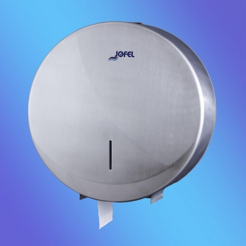 Distributeur papier Distributeur papier hygiénique Inox - Jumbo grand modèle