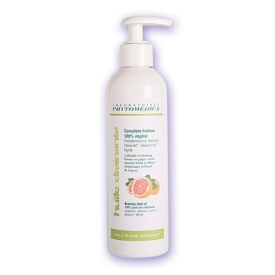 Huile de massage Huile fluide drainante - Phytomedica - Flacon x 250 mL
