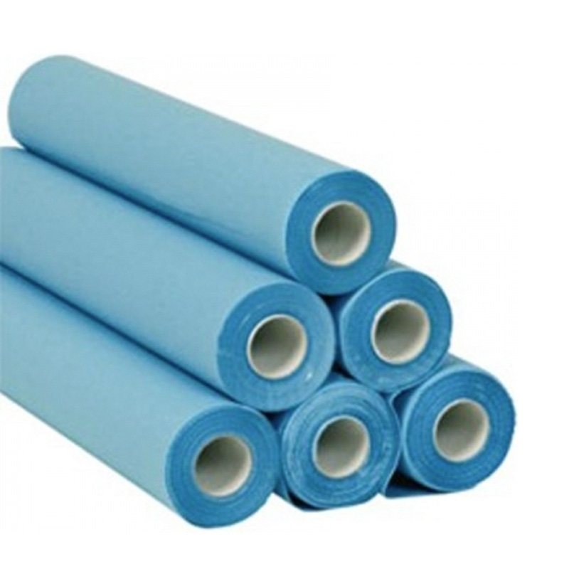 Toutes les promotions Draps d'examen plastifiés bleu - 38 x 50 - 2 Cartons x 6 rouleaux