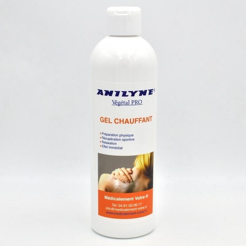 Crèmes & Huiles Gel chauffant Anilyne - Récupération musculaire - Flacon de 500 ml
