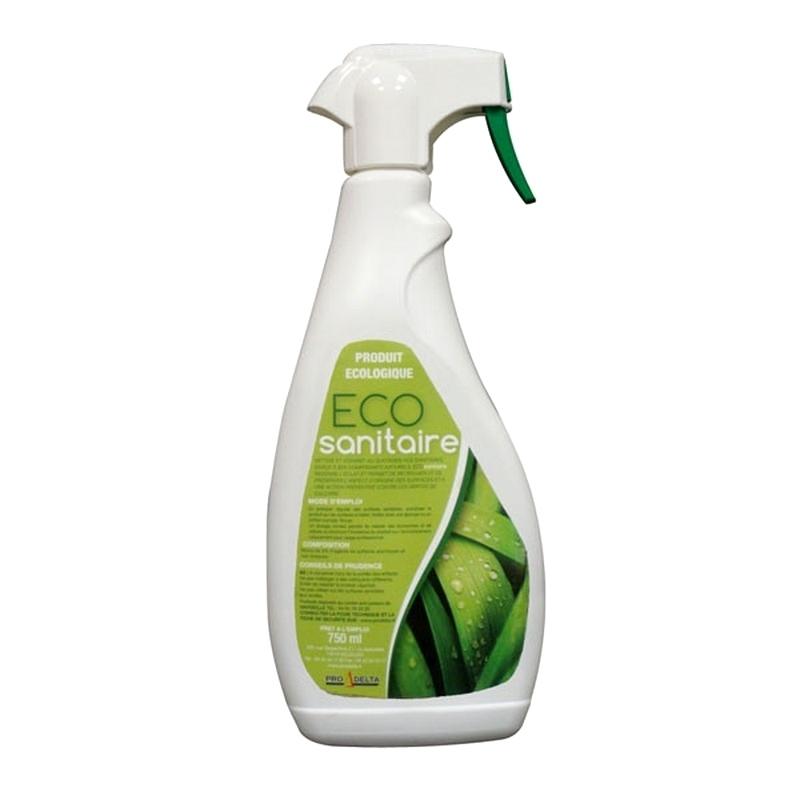Produits d'entretien Eco Sanitaire - Nettoyant écologique - Flacon de 750 ml