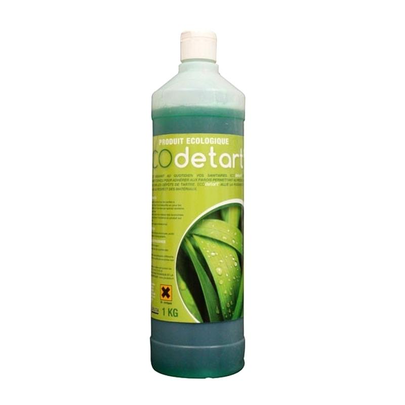 Sols et surfaces Nettoyant détartrant Ecodetart' - Gel WC écologique - Flacon de 1 litre