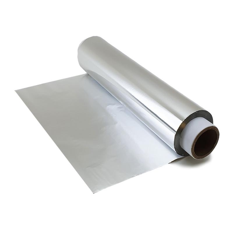 Film transparent ou film aluminium Rouleau aluminium - Avec boite distributrice - 30 cm x 200 m - Unitaire