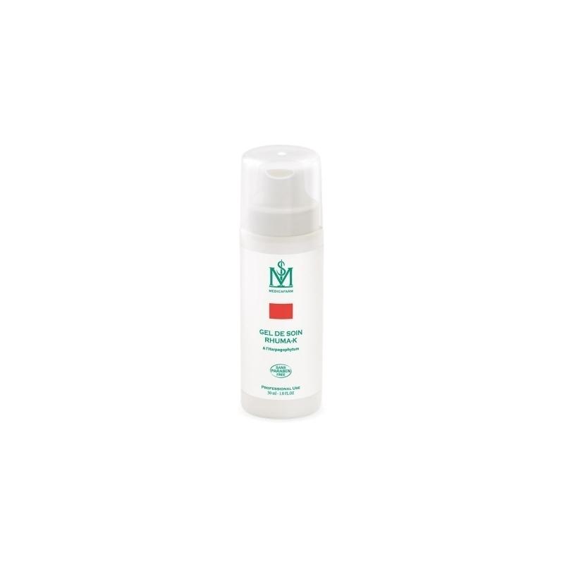 Gel et lait de massage Gel de soin Rhuma K - A l'Harpagophytum - Medicafarm - Flacon de 30 ml