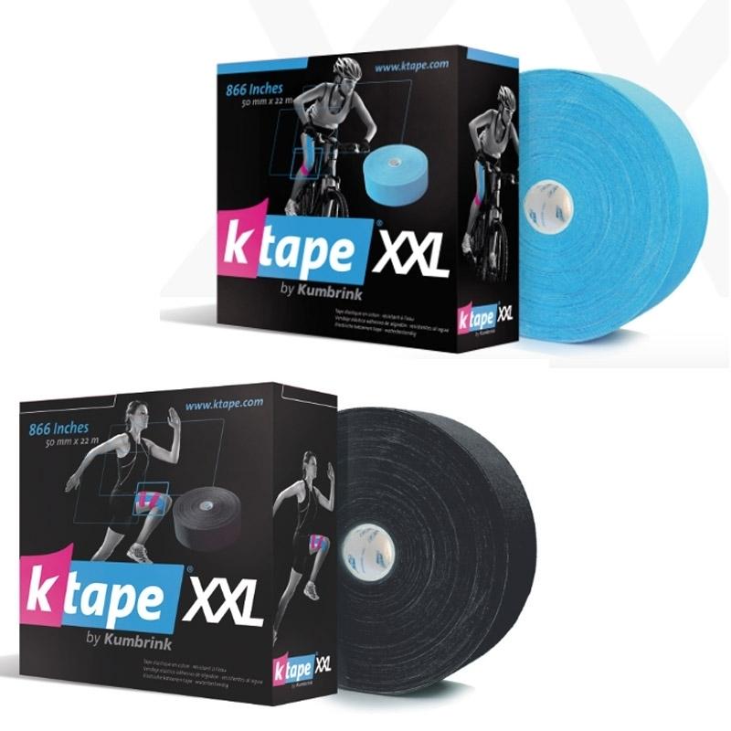 KTape & Taping K Taping - Bande adhésive élastique - 5 cm x 22 m