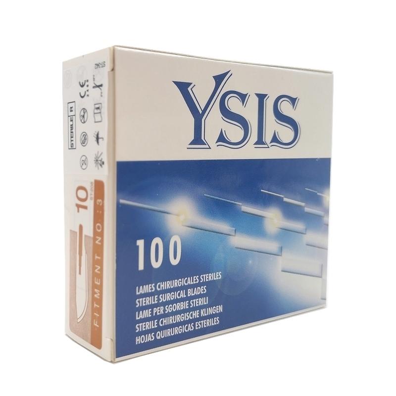 Numéros classiques Lames de bistouris N°10 - Ysis - Stériles - Boite de 100