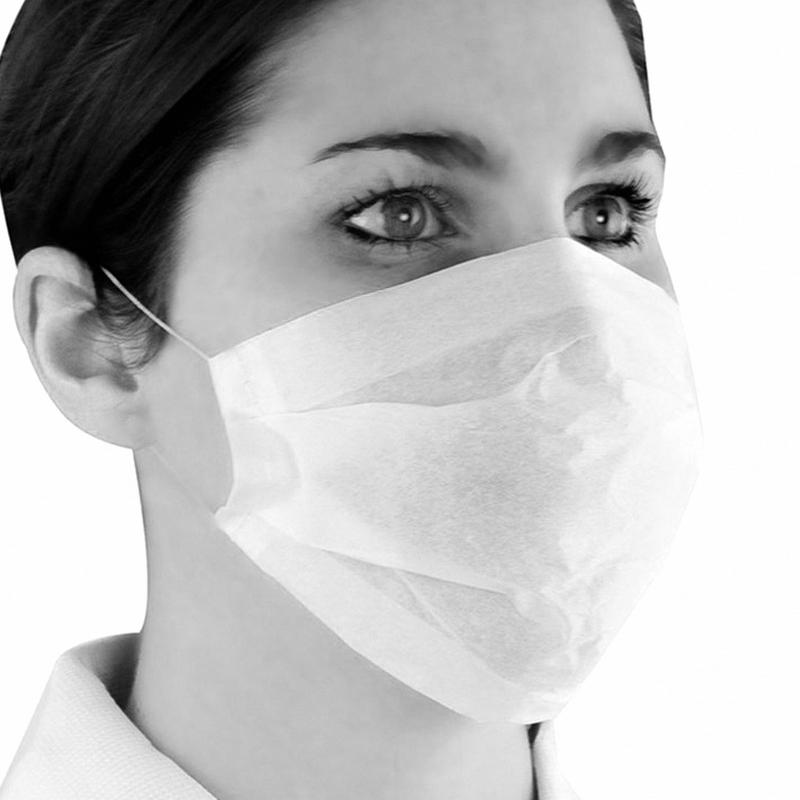 Masques Masque élastique blanc 1 pli - Jet - Boite de 100