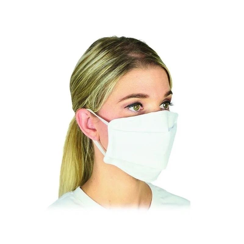 Masques Masque barrière en tissu DJO - Réutilisable 30 fois - Catégorie 1 UNS 1 - Taille Adulte ou Junior