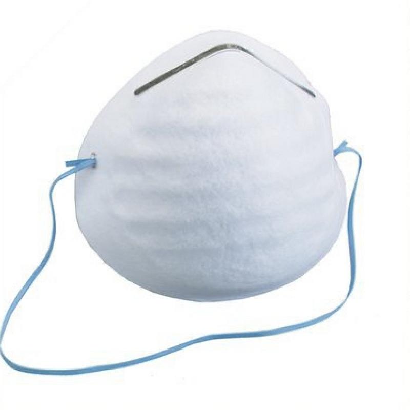 Masques Masque coque blanc - Boite de 50