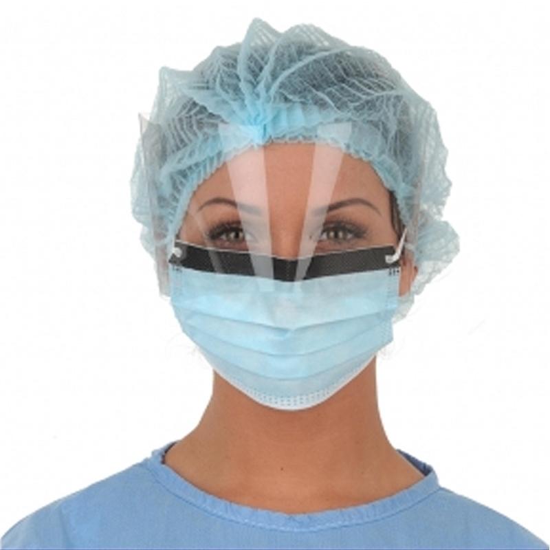 Masques Masque chirurgie à visière - Medistock - Boite x 25